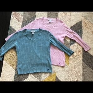 Bundle of 100% cotton sweaters!